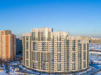 Проектом предусмотрено наличие видовых квартир